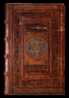 """Book with the supralibros of Sigismund II Augustus (""""Augustini Eugubini Cosmopeia"""" by Jacob Ziegler) by Anonymous from Kraków, 1549, Staatsbibliothek zu Berlin"""