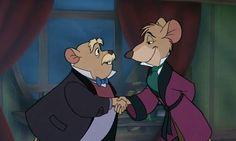 Disney: One Sentence Stories - Great Mouse Detective 80s Disney Movies, Disney Sidekicks, Disney Cartoons, Disney Stuff, Easy Cartoon Drawings, Cartoon Drawing Tutorial, Cartoon Girl Drawing, Walt Disney, Disney Mouse