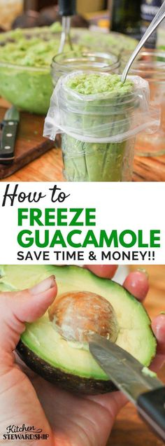 How to freeze guacamole. Stock on avocados when they are on sale and use this recipe and tips to preserve your guac!