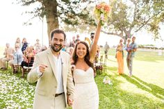The happy couple right after they tied the knot! Maui Wedding, Angela Nelson Photography