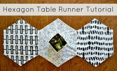 Easy way to get your table ready for the holidays! Use holiday colors or even holiday themed fabrics.