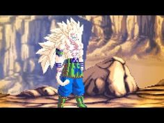 Goku Transformation Super Saiyan God - Final Form (Animation)