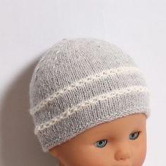 14 / Bonnet bébé - explications tricot - Tutoriels de tricot chez Makerist