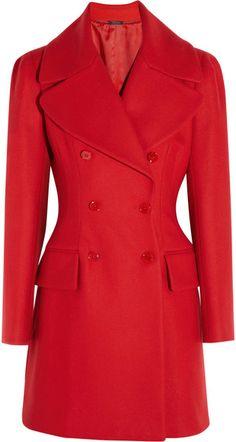 Wool and Cashmere blend Felt Coat - Lyst