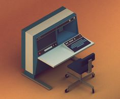 30 Days Isometric Renders Challenge | Abduzeedo Design Inspiration