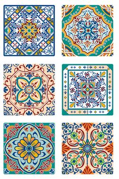 Mandala Art, Mandala Drawing, Tile Patterns, Pattern Art, Textures Patterns, Decoupage Vintage, Decoupage Paper, Mosaic Shower Tile, Folk Art Flowers