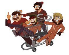 Kyle South Park, South Park Funny, South Park Anime, South Park Fanart, Yandere, Vocaloid, Neko, Aliens, Stan Marsh
