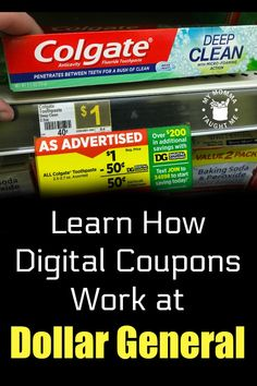 How Dollar General Digital Coupons Work - My Momma Taught Me Dollar General Penny Items, Dollar General Store, Dollar General Digital Coupons, Dollar General Couponing, Best Money Saving Tips, Saving Money, Couponing For Beginners, Making Life Easier, Extreme Couponing