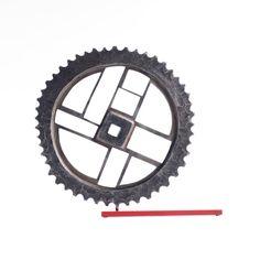 Cogwheel, diametr 25 cm, steel (2016)
