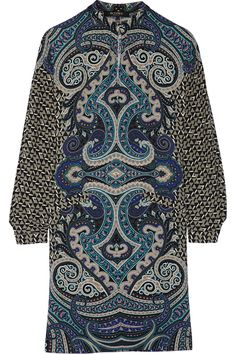 Shop on-sale Etro Printed wool-crepe dress. Browse other discount designer Dresses & more on The Most Fashionable Fashion Outlet, THE OUTNET.COM
