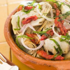 Mosaic Artichoke Salad - 10 Easy Paleo Diet Recipes - Shape Magazine - Page 6