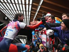 Sochi 2014 Day 9 - Men's Skeleton - Claire Ann Peetz Blog