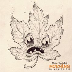 It's Falllllll….. #morningscribbles