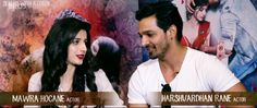 Harshvardhan Rane and Mawra Hocane, revealed their most unforgettable and special moments. http://www.bollywoodnentertainment.com/2016/01/harshvardhan-rane-and-mawra-hocane.html