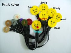 felt and ribbon bookmark idea