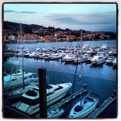 Puerto deportivo  #Sanxenxo #Galicia