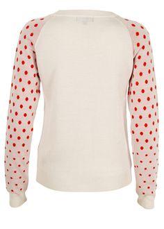 - Strik - Dots Sweater - Pudder