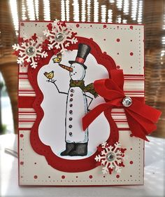 snow much fun stampin up
