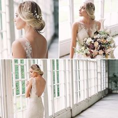 My Sylvie hair vine looking so pretty in this beautiful shoot by my fabulous Cornwall stockist x  #Repost @thebridalhouseofcornwall ・・・ We love this Devine #hairvine :fallen_leaf:@debbiecarlisle_  we paired it with #yasmindress from Catherine Deane  Wedding Inspiration from Debbie Carlisle