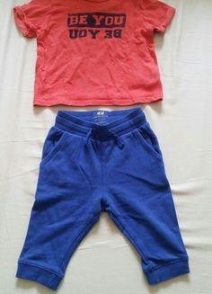 Kupuj mé předměty na #vinted http://www.vinted.cz/deti/kalhoty/12717687-krasne-chlapecke-miminkovske-teplacky-hm
