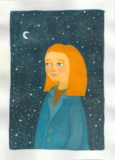 "illustrations @Behance projeme göz atın: ""girls with gouache"" https://www.behance.net/gallery/47524275/girls-with-gouache"
