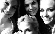 Lana, Jen, Georgina and Elisabeth #frozeniscoming #evilregal #OUAT
