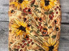 Home | Vineyard Baker Art Du Pain, Pan Focaccia, Focaccia Bread Recipe, Sourdough Bread, Recipes Using Ground Beef, Bread Art, Keto Biscuits, Taste Of Home, Recipe Using