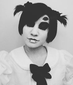 Muffet was so cute. I like this one a lot too bad I don't have 6 arms. - - - #cosplay #cosplayer #cosplaying #cosplayaccount #cosplaymakeup #undertale #undertalecosplay #muffet #undertalemuffet #muffetcosplay #spider #blackandwhite #selfie #boy #trans #transgender #transboy #transguy #ftm #ftmtrans #ftmtransgender #femboy
