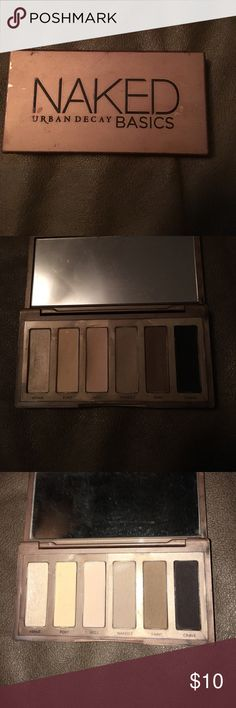Urban Decay Naked Basics Palette Gently used. Outside is a little beaten up. Perfect little palette for travel and everyday looks! Make an offer or bundle! Makeup Eyeshadow