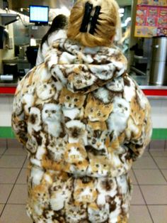 For the crazy cat lady in you.