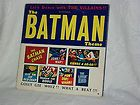 Rare Original Soundtrack Of The Batman and Robin Theme Lp Vinyl record 1966 Vg - http://awesomeauctions.net/vinyl-records/rare-original-soundtrack-of-the-batman-and-robin-theme-lp-vinyl-record-1966-vg/