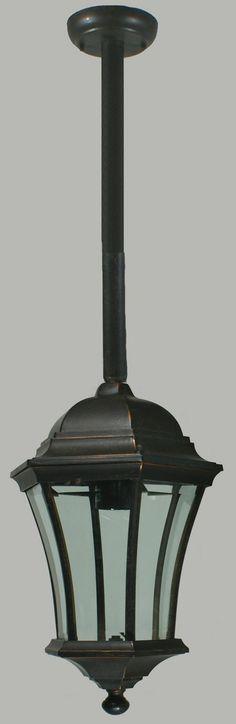 Outdoor Exterior Lighting Toorak 1 Light Rod Pendant Pendants