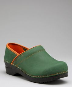536837246052 Sanita Green Original Professional Electra Closed Clog - Women