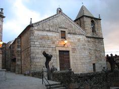 La Iglesia de Nuestra Señora de La Piedad en una fría mañana de otoño.