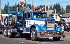 1951 kw logging truck