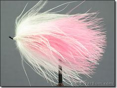 Pink-White Marabou - Fly  for Fly-Fishing