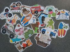Free! Clipart Pics for writing prompts, working on descriptors, and more!
