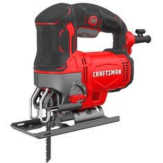 Shop CRAFTSMAN 6 Amp Variable Speed Corded Jigsaw at Lowe's Canada. Craftsman Power Tools, Best Paint Sprayer, Best Jigsaw, Machinist Tools, Saw Tool, Mechanic Tools, Wood Tools, Ace Hardware, Accessories