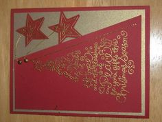 red holiday wishes by hairchick - Cards and Paper Crafts at Splitcoaststampers