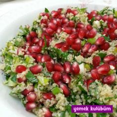 Narlı Tabule Tarifi - Yemek Kulübüm