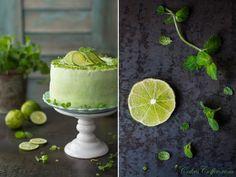 Tort Mojito - Blog Mojito, Matcha, Birthday Cake, Pudding, Baron, Desserts, Handmade Ideas, Kuchen, Postres