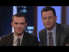 Nicholas Hoult on Jimmy Kimmel Live PART 2