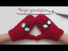 Baby Booties Knitting Pattern, Crochet Baby Shoes, Mittens Pattern, Crochet Clothes, Knitting Stitches, Knitting Patterns, Crochet Patterns, Knitted Gloves, Fingerless Gloves