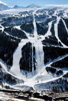 Avet FIS slope, #Soldeu   snowzine.com