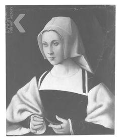 Datering 16de eeuw (1500 - 1599) Titel Portret van een vrouw Engelse titel Portrait of a woman