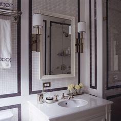 This bathroom. 480 Park Avenue, New York | Ferguson & Shamamian