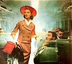 1957 Travel ensemble