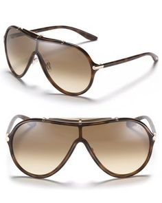 Tom Ford Ace Oversized Shield Sunglasses Aneis, Óculos De Sol Tom Ford,  Acessórios Da 0ccc77483d