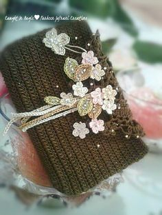 Floral evening purse/clutch ♥♥