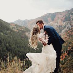 This mountain top photo